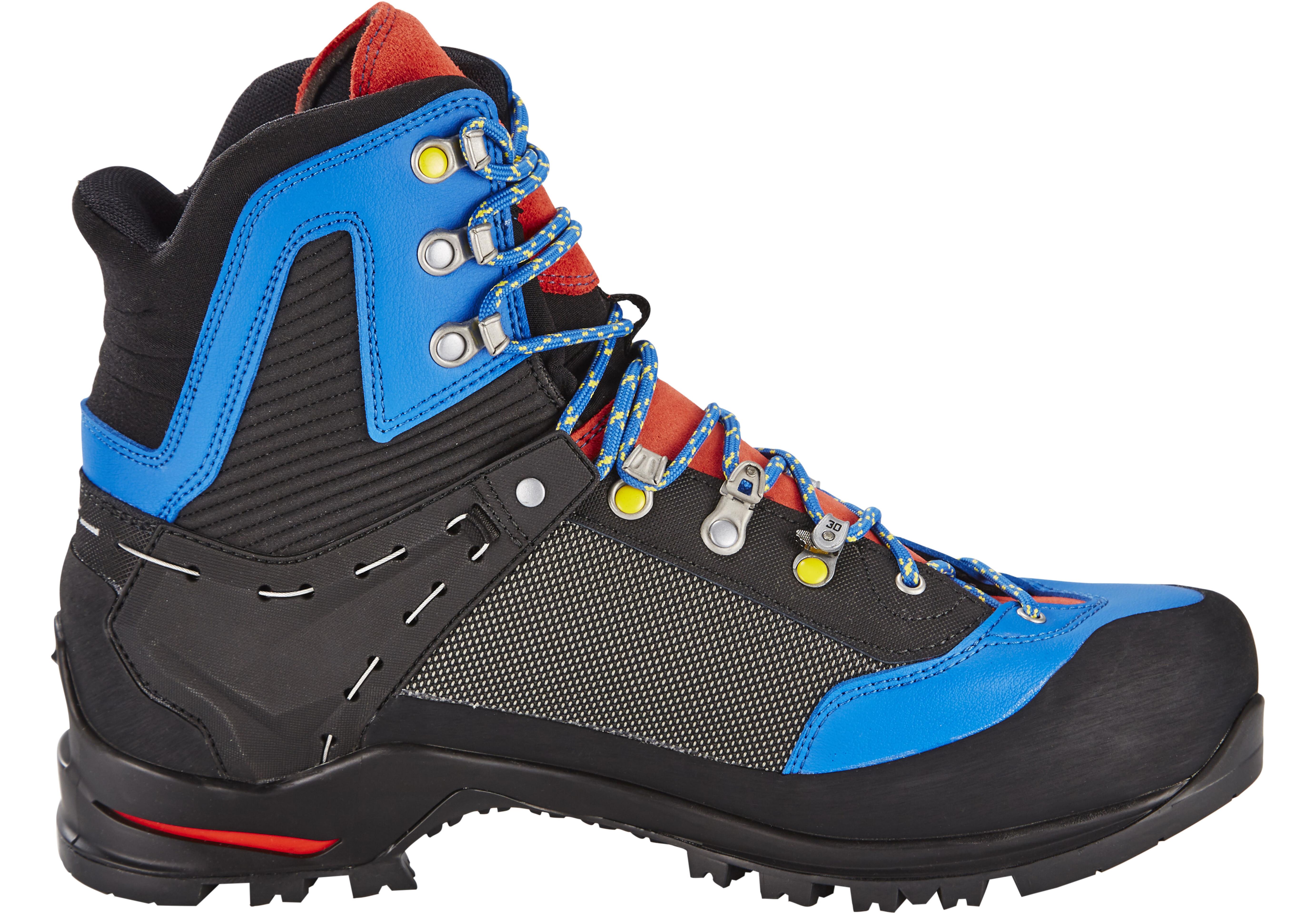 SALEWA Raven 2 GTX Shoes Herr Mayan Blue/papavero